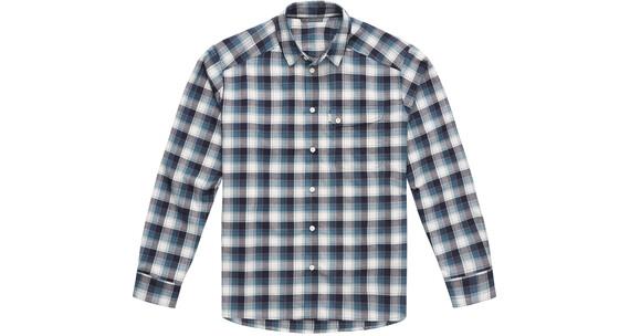 Haglöfs M's Tarn Flannell Shirt STEEL SKY/DEEP BLUE
